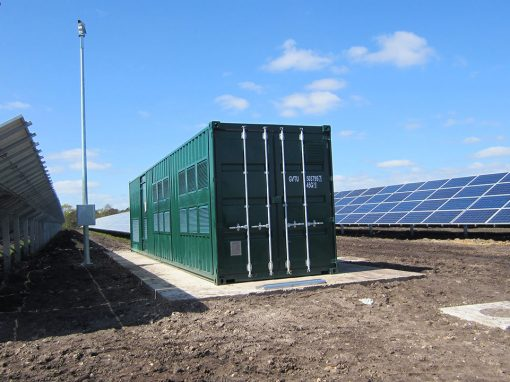 Planta Solar Parley UK Isolux
